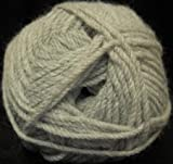 Plymouth (1-Pack) Encore Worsted Yarn Light Grey Heather 6007-1P