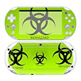 CSBC Skins Sony PS Vita 2000 Design Foils Faceplate Set - Biohazard Design