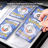 tombert TCG Binder Compatible with Pokemon Trading