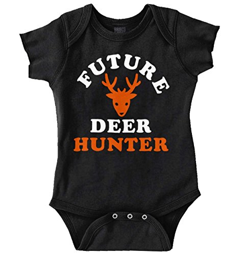 Future Deer Hunter Buck Hunting Training Romper Bodysuit