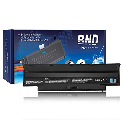 Bnd Laptop Battery For Dell J1knd  N7110 N7010 N5010 N4110 N4110 M5030 M5110  Vostro 3450 3550 3750 3550N   12 Months Warranty  6 Cell 4400Mah 49Wh