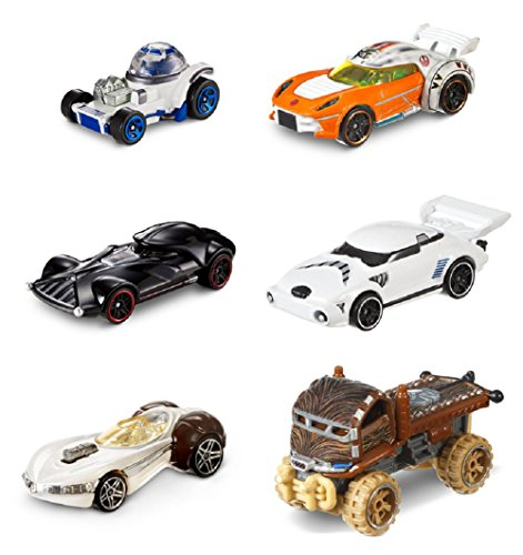 Hot Wheels Star Wars Character Cars  40th Anniversary Editio