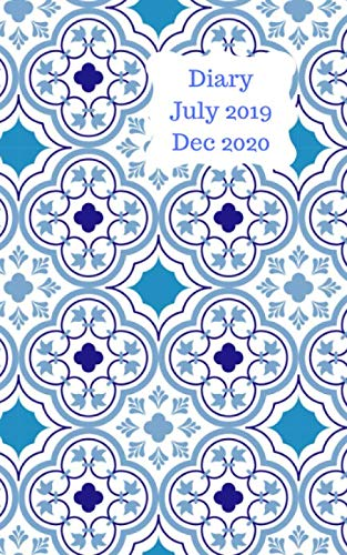 Diary July 2019 Dec 2020: 5x8 pocket size, week to a page 18 month diary. Space for notes and to do list on each page. Perfect for teachers, students ... ()