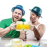 CKB Ltd The Make Your Own Ice Beer Mug Set - Ideal Beer Cider Glass - Plastic Mold