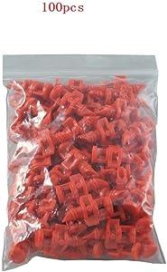 Amazing-us 360 Degree Micro Sprayer Fan Jet Hydroponic Aeroponic Misters Cloners - 360 Sprayer Red (100)