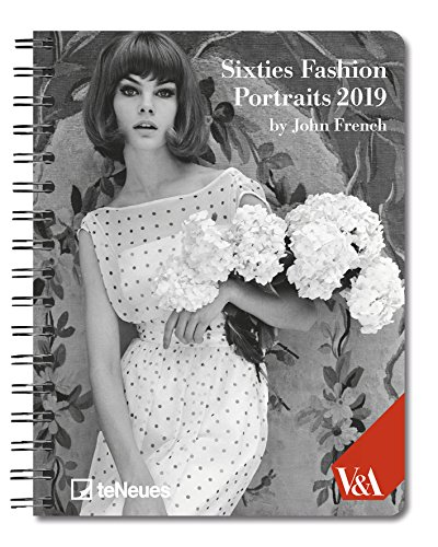 - 2019 Sixties Fashion Deluxe Diary- teNeues - 16.5 x 21.6 cm (English, German, French, Italian and Spanish Edition)