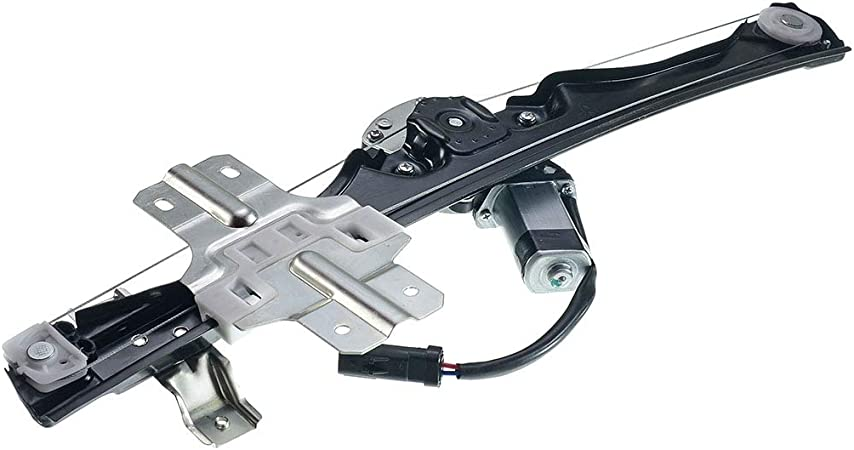 Front Right Passenger Side Power Window Regulator with Motor for 2013-2016 Chevrolet Traverse Buick Enclave GMC Acadia
