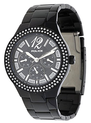 POLICE Women Watch Glitz black P14306MSB-02M