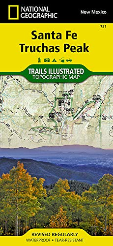 (Santa Fe, Truchas Peak (National Geographic Trails Illustrated Map))