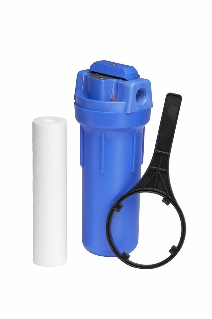 EcoPure EPW2V Valve-In-Head Whole Home Water Filtration System