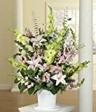 Peace Flowers - Flowers For Funeral - Funeral Flower Arrangements - Funeral Plants - Same Day Funeral Flowers - Condolence Flowers