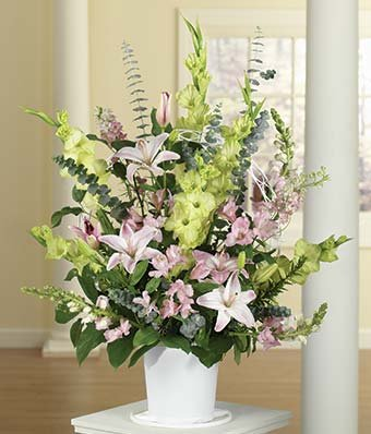 Right From Heart Sympathy Flowers - Same Day Sympathy Flowers Delivery - Condolence Flowers - Funeral Flower Arrangements - Sympathy - Flower Funeral Arrangements