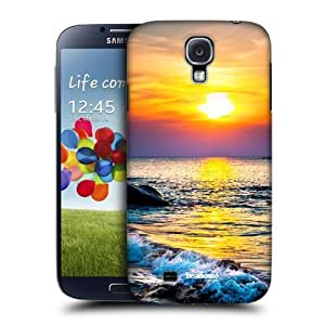 Head Case Designs Colourful Sunset Over the Sea Beautiful Beaches Protective Snap-on Hard Back Case Cover for Samsung Galaxy S4 I9500 by ruishername