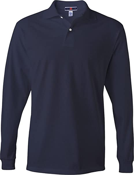 08180c2b1f7 Image Unavailable. Image not available for. Color: Jerzees - SpotShield 50/ 50 Long Sleeve Sport Shirt ...