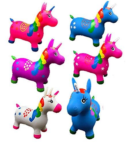 DollarItemDirect Unicorn Bouncer Ride ON, Case of 12 by DollarItemDirect (Image #1)