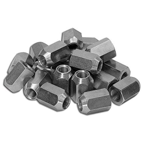 Eckler's Premier Quality Products 25-108749 – Corvette Wheel Lug Nut Set, Cars with Knock-Off Aluminum Wheels