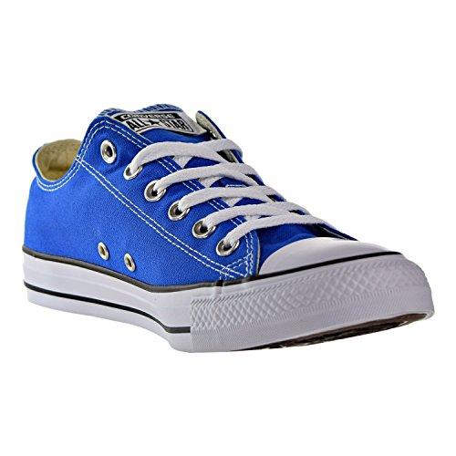 (Converse Chuck Taylor All Star Seasonal Colors Ox, Solar Blue, Men's 10, Women's 12)