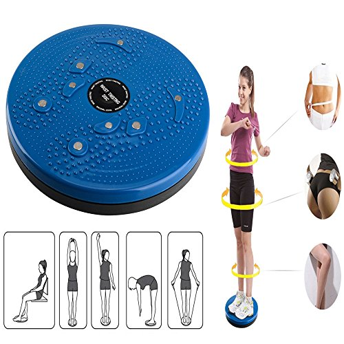 Rimmer Twisting Waist Ankle Body Aerobic Exercise Twist Waist Torsion Body Massage Board Aerobic Foot Exercise Fitness Twister - Figure Trimmer by DINY Home & Style