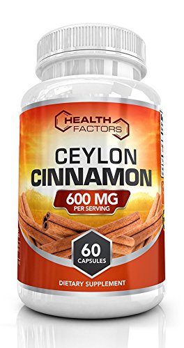 Organic Ceylon cinnamon capsules to support healthy blood sugar levels, heart health & help decrease
