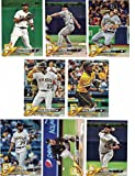 Pittsburgh Pirates/Complete 2018 Topps Series 1 & 2 Baseball 20 Card Team Set! Includes 25 bonus Pirates Cards!