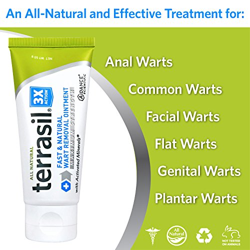 Jual Terrasil Fast Natural Wart Removal Ointment 50 Gram Max