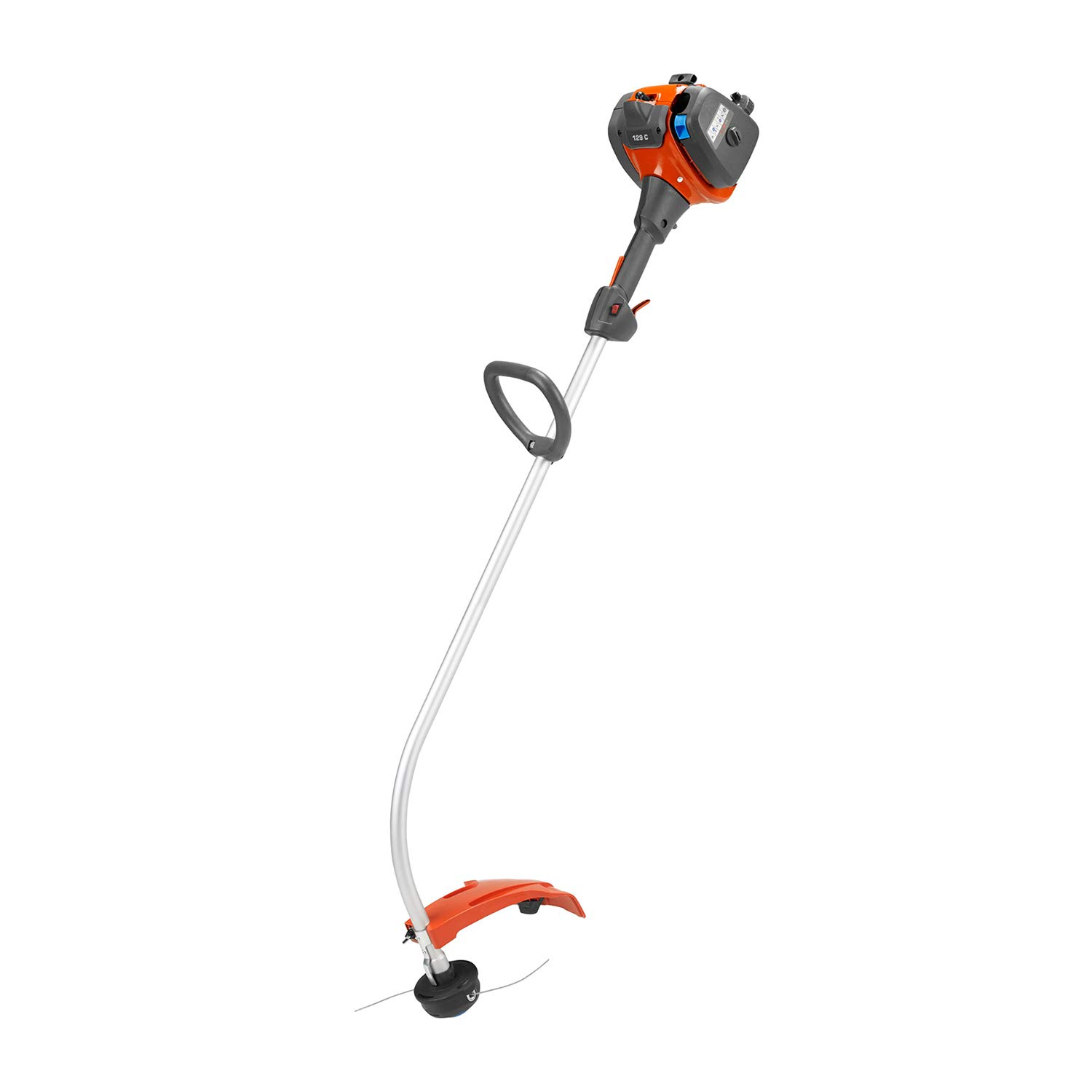 Husqvarna 129C, 17 in. 28cc 2-Cycle Gas Curved Shaft String Trimmer