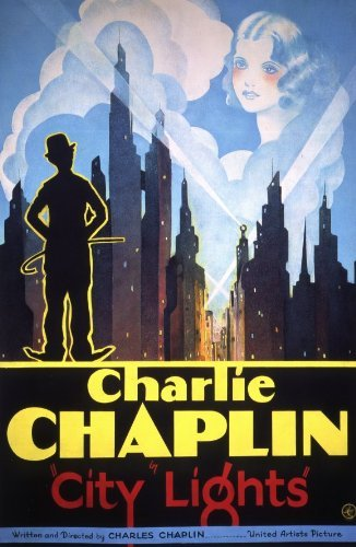 City Lights POSTER Movie (11 x 17 Inches - 28cm x 44cm) (1931) (Style (Chaplin Movie Poster)