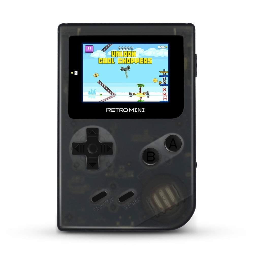 EbuyChX Retro Mini 2 inches Handheld Game Console with Built-in Gameboy Advanc Black