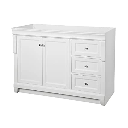 Foremost NAWA4821D Naples 48 in x 21u0026quot; Vanity Cabinet Only ...  sc 1 st  Amazon.com & Foremost NAWA4821D Naples 48 in x 21