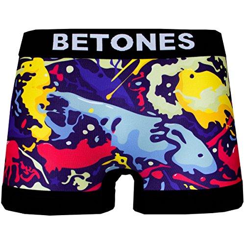 BETONES(ビトーンズ)INK インク アンダーウェア ボクサーパンツ ユニセックス プレゼント ブランド INK-INK001(1 MIX)