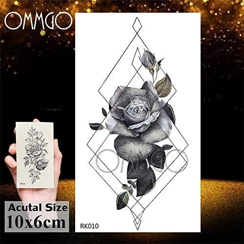 Yyoutop Impermeable Geométrico Pino e Tatuajes Etiqueta Triángulo ...