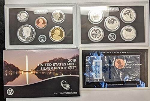 2019 S Silver Proof Set with W-Penny ()