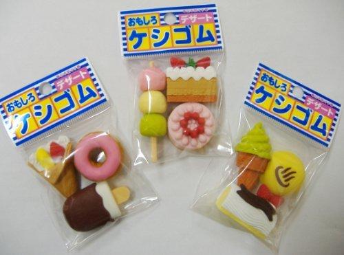 Iwako Japanese Eraser Dessert Set - 9 pcs.