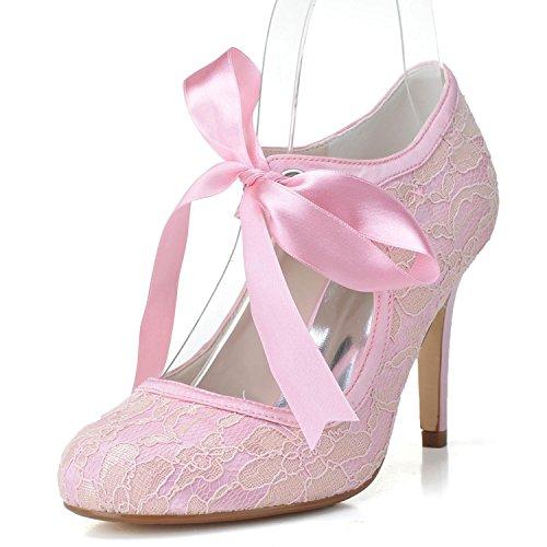 yc Los La Bajos Pink 5623 L 06 Tacones Zapatos De Boda Tu HTqxdZa