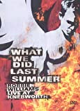 What We Did Last Summer [DVD] [2003]
