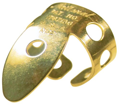 Fingerpicks Brass (National NP2G-2PK Finger Picks - Gold - 2 Pack)
