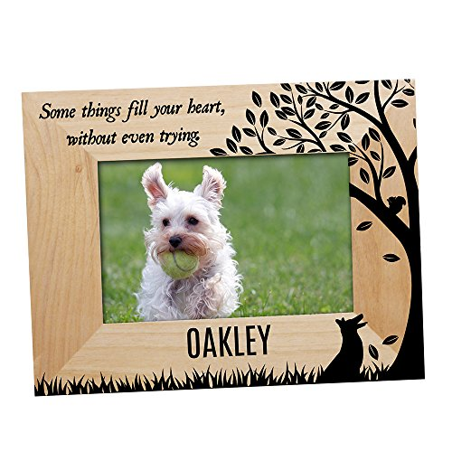 - GiftsForYouNow Some Things Fill Your Heart Personalized Pet Picture Frame