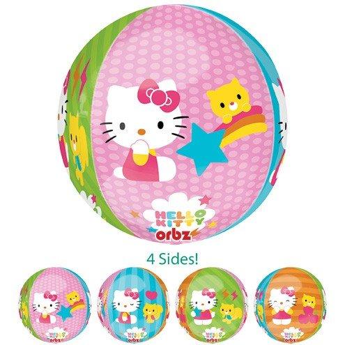 LuftBalloons 41cm Orbz Hello Kitty Balloon   B01NAEN51I