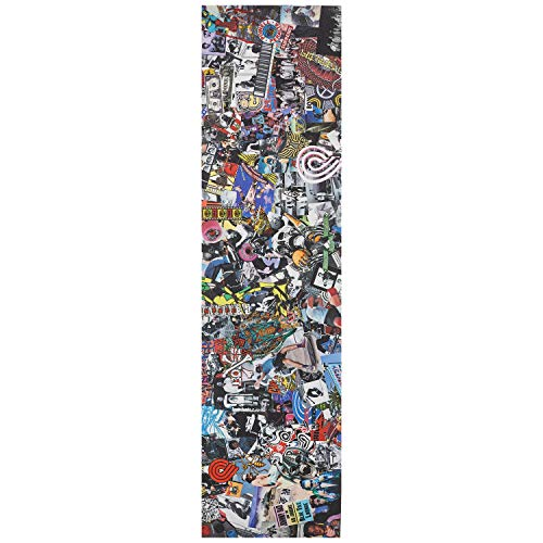 "Powell-Peralta Skateboard Griptape Collage 9"" x 33"" Grip Sheet"