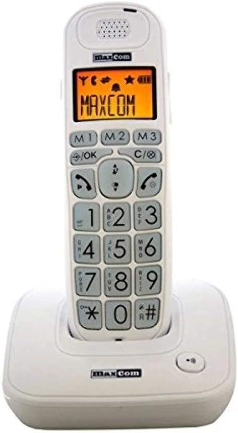 Maxcom Mc6800 Phone Wireless White Elektronik