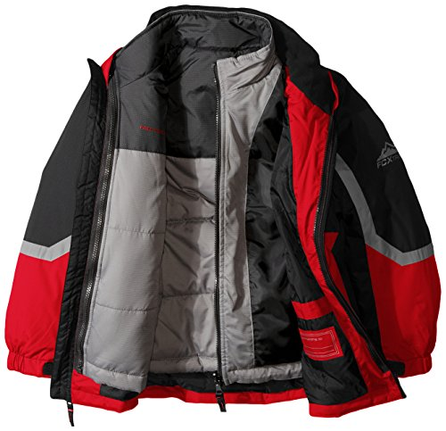 with Jacket Racer Free Boys' Red Coat Little Country Puffer Systems qwAXUfw1