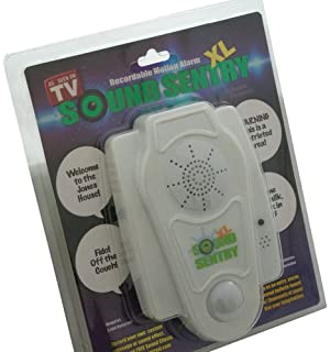 sound sentry xl recordable motion alarm bubble pack - Free Halloween Sounds Mp3