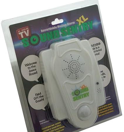 Sound Sentry XL Recordable Motion Alarm Bubble Pack: Amazon ...