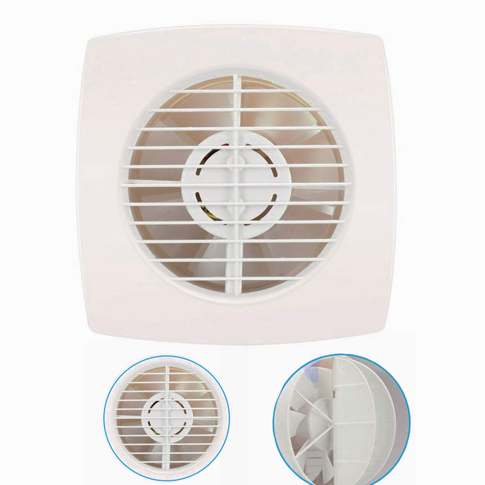 Bewox 6 Inch Exhaust Fan Window Wall Ventilation Slient Extractor Fan for Bathroom/Kitchen/Garage - 250m³/h (Exhaust Fan - C) by Bewox
