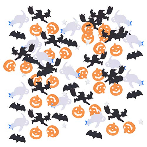 SUPVOX Halloween Party Table Confetti Scatters Decorations -