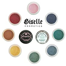 Giselle Cosmetics – ♦ICE CREAM LOVE♦ Best Mineral Makeup for: Eye shadow • Eyeliner • Lip Colour • Nail Polish • Blush • Hair Lightener • 100% Pure Mineral Powder