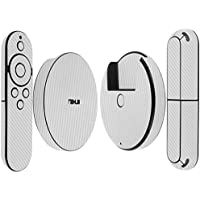 Skinomi TechSkin - Google Nexus Player Silver Carbon Fiber Full Body Skin Protector / Front & Back Wrap / Premium HD Clear Film / Anti-Bubble Crystal Shield 1st Generation