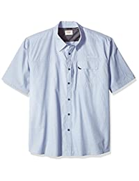 Wrangler mens big-tall Authentics Big & Tall Short Sleeve Utility Shirt