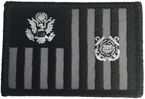 USCG Subdued Ensign - Morale Patch (Black)