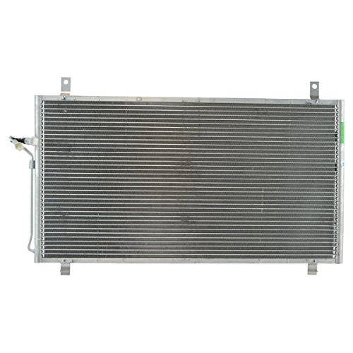AC Condenser A/C Air Conditioning with Receiver Drier for 03-09 Nissan 350Z ()